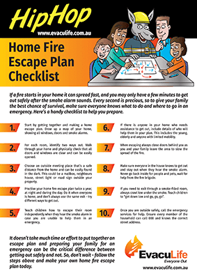 Home Fire Plan Checklist