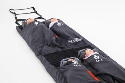 S-CAPEKIDS-Evacuation-Mattress-Sled-With-Babies