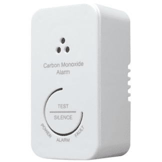 Carbon Monoxide Alarm, Photoelectric, 3V Sealed Battery